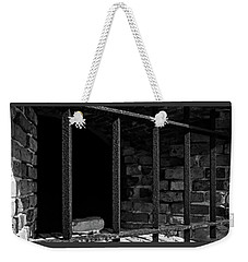 Through The Bars 2 Weekender Tote Bag