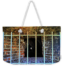 Through The Bars Weekender Tote Bag
