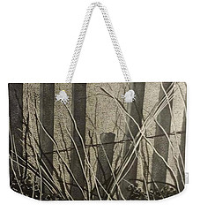 Through The Beach Fence Weekender Tote Bag