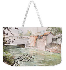 Through The Canal  Weekender Tote Bag