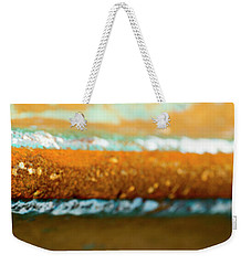 Weekender Tote Bag featuring the photograph Through The Centre by Wendy Wilton