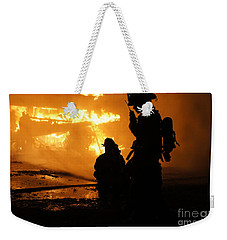 Through The Flames Weekender Tote Bag