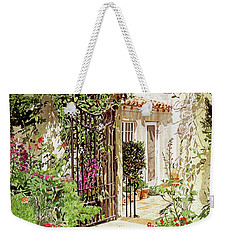 Through The Garden Gate Weekender Tote Bag