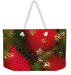 Strawberries Behind  The Glass Weekender Tote Bag by Maciek Froncisz