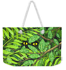 Through The Leaves Weekender Tote Bag
