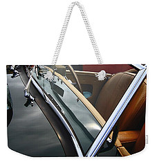 Weekender Tote Bag featuring the photograph Through The Looking Glass by Stephen Mitchell