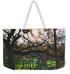 Through The Oaks Weekender Tote Bag