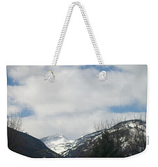 Through The Pass Weekender Tote Bag
