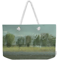 Through The Rain Weekender Tote Bag