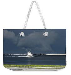 Through The Storm Weekender Tote Bag