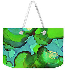 Weekender Tote Bag featuring the painting Through The Waters by Michele Myers