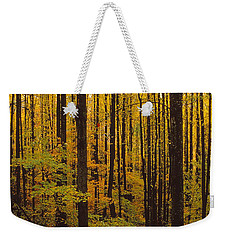Through The Yellow Veil Weekender Tote Bag