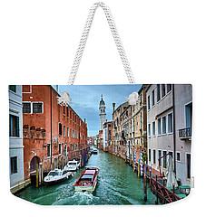 Through Venetian Canals Weekender Tote Bag