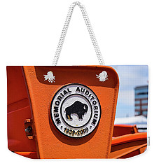 Throwback Seats Weekender Tote Bag