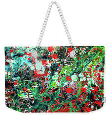 Thrown From On High Weekender Tote Bag