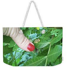 Weekender Tote Bag featuring the photograph Thumb Sized by Megan Dirsa-DuBois