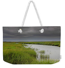 Thunder Heads Over Salt Marsh Weekender Tote Bag