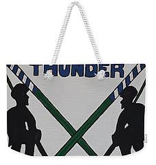 Thunder Hockey Weekender Tote Bag