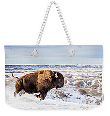 Thunder In The Snow Weekender Tote Bag