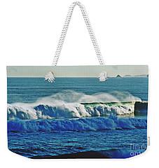 Thunder Of The Waves Weekender Tote Bag