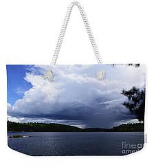 Thunder Shower At Slim Lake Weekender Tote Bag