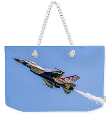 Weekender Tote Bag featuring the photograph Thunderbird #5 by Nick Zelinsky