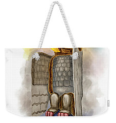Thunderbird And Whale Weekender Tote Bag