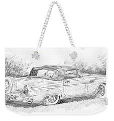 Thunderbird Sketch Weekender Tote Bag