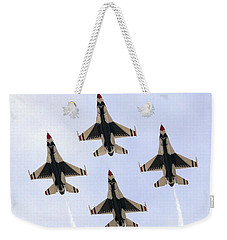 Thunderbirds Away Weekender Tote Bag by Kevin Fortier