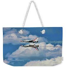 Thunderbirds Inverted Weekender Tote Bag