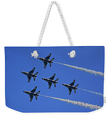 Weekender Tote Bag featuring the photograph Thunderbirds Upwards by Raymond Salani III