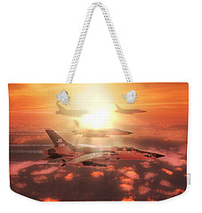 Thunderchief Dawn Weekender Tote Bag