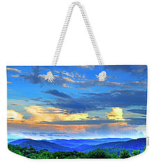 Thunderheads Weekender Tote Bag by Dale R Carlson