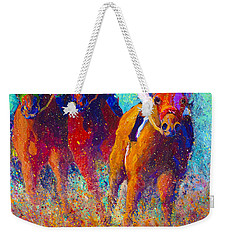 Thundering Hooves Weekender Tote Bag