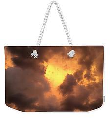 Thunderous Sunset Weekender Tote Bag