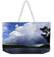 Thundershower Over Slim Lake Weekender Tote Bag