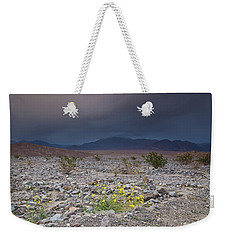 Thunderstorm Over Death Valley National Park Weekender Tote Bag