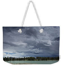 Thunderstorm Over Indian Pond Weekender Tote Bag