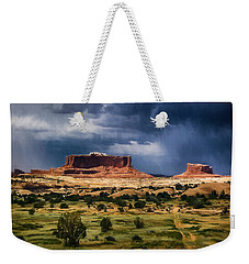 Thunderstorms Approach A Mesa Weekender Tote Bag