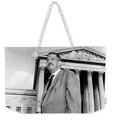 Weekender Tote Bag featuring the photograph Thurgood Marshall by Granger