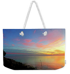 Sunset At Tibbetts Point Light, 2015 Weekender Tote Bag