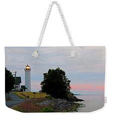 Tibbetts Point Light Sunset Weekender Tote Bag
