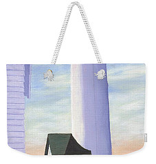 Weekender Tote Bag featuring the painting Tibbett's Point by Lynne Reichhart