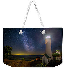Tibbetts Point Night Weekender Tote Bag by Mark Papke