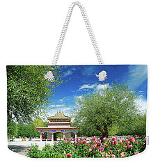 Tibet Scenery In Autumn Weekender Tote Bag