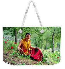 Tibetan Doctor In Lahav Forest Weekender Tote Bag