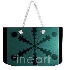 Tibetan I-eye Wheel Weekender Tote Bag by Talisa Hartley