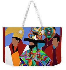 Tibetan Monks Cham Dancer Weekender Tote Bag