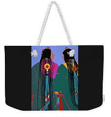 Tibetan Women Weekender Tote Bag