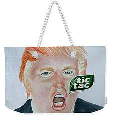 Tic Tac Trump Weekender Tote Bag